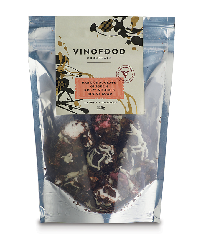 Vinofood Condiments chocolate packaging