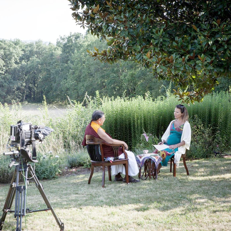 Rencontre avec Sakya Trizin