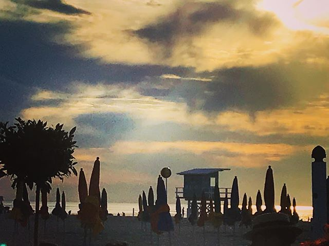 #normandy #sunset #deauville 😎
