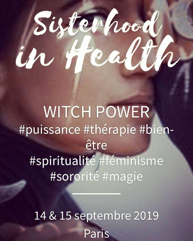 J-8 #festival #witchpower #witchesofinstagram #conference #paris ✨💥