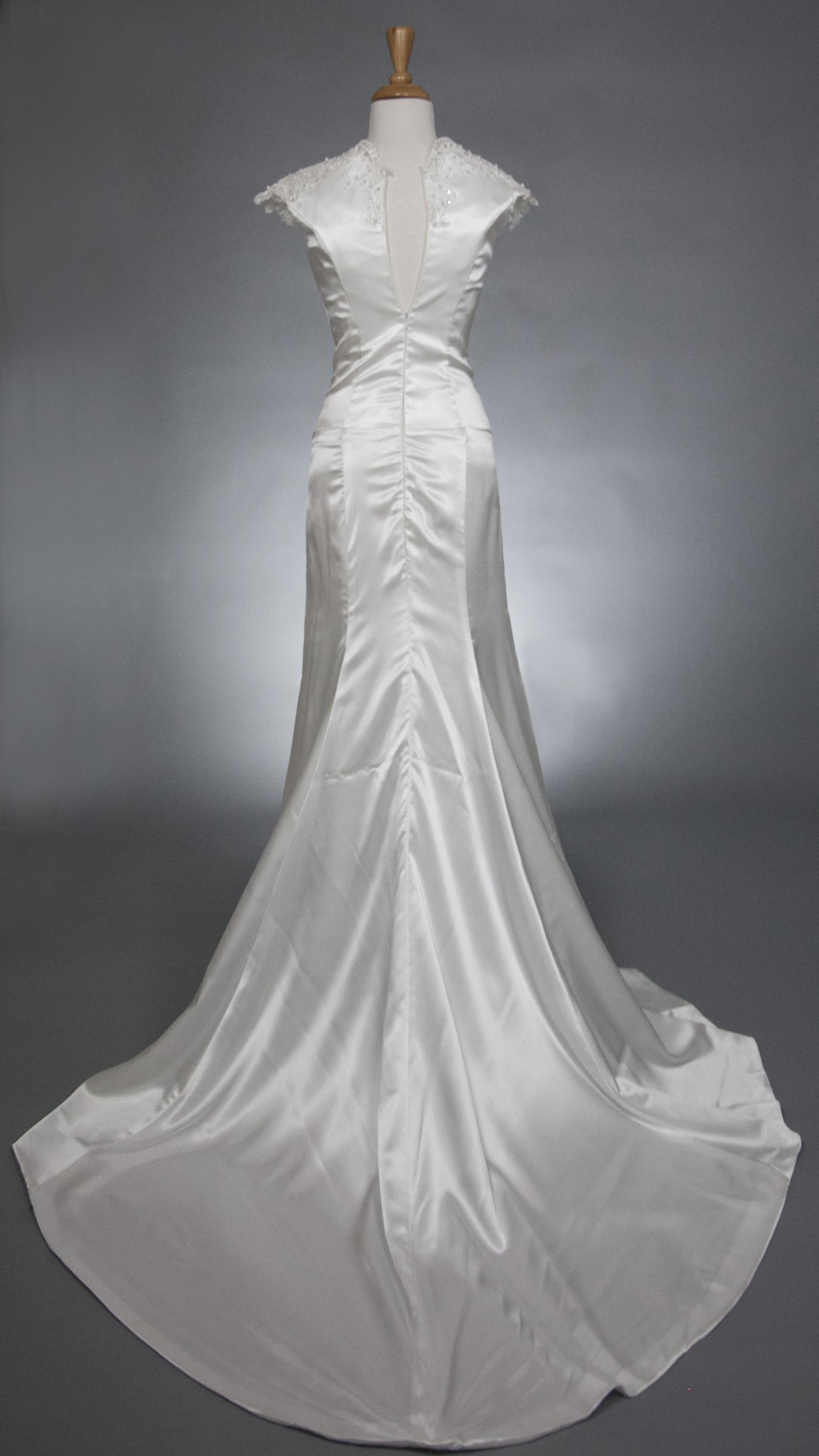White Wedding Gown  $199.