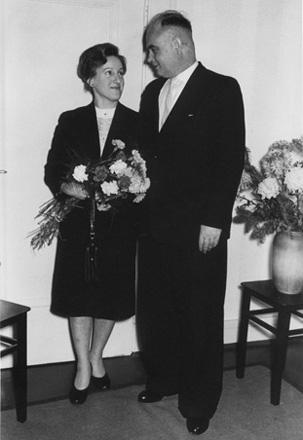 Eva und Heinz Wienke 1960