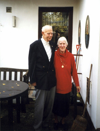 Eva und Heinz Wienke 1999