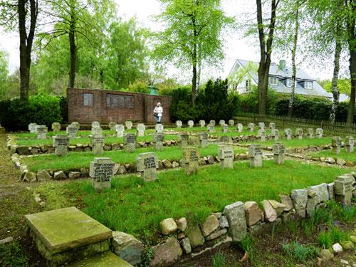 Friedhof - totale Ansicht