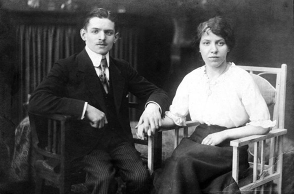 Charles und Elly Krüger 1917