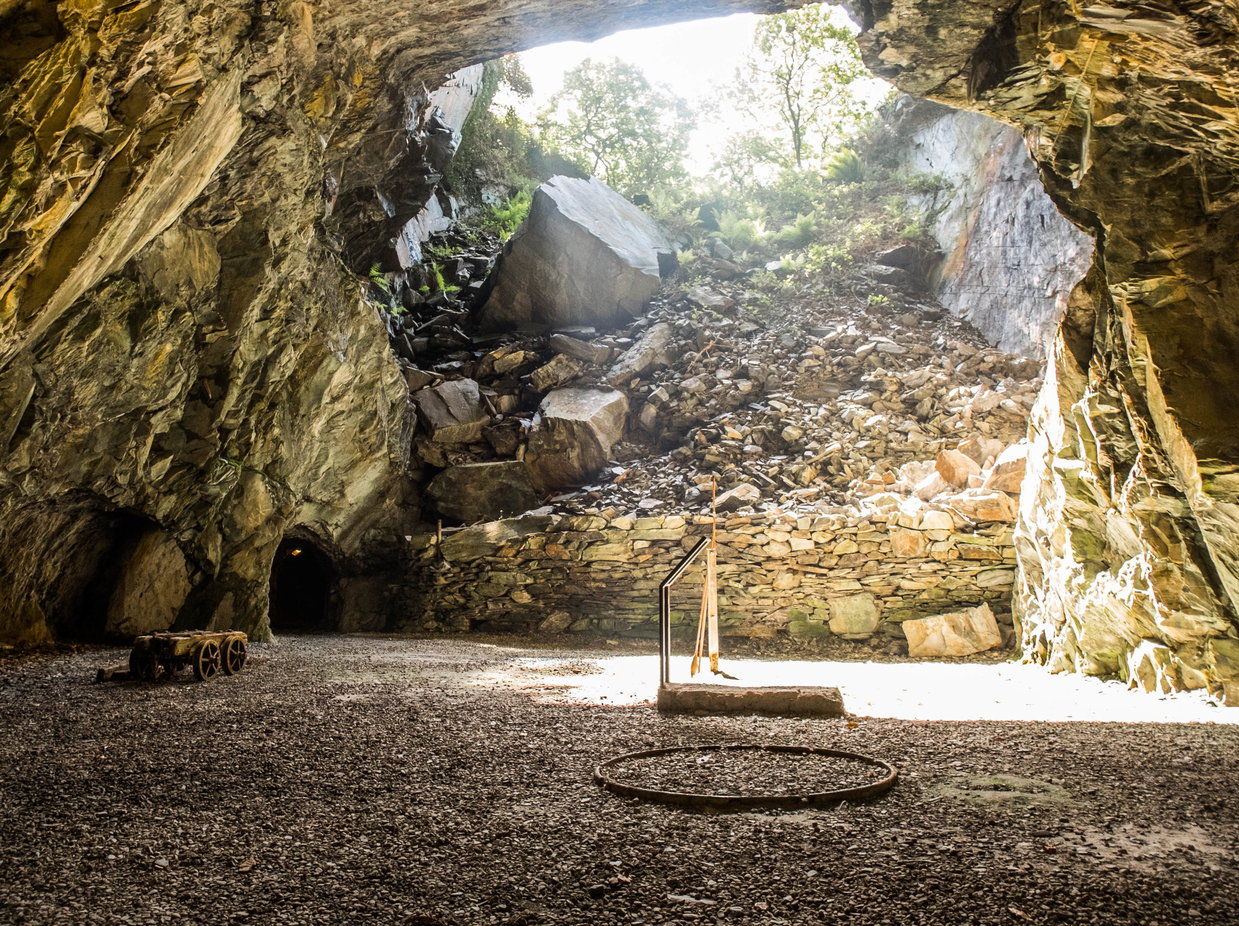 Llanfair Slate Caverns