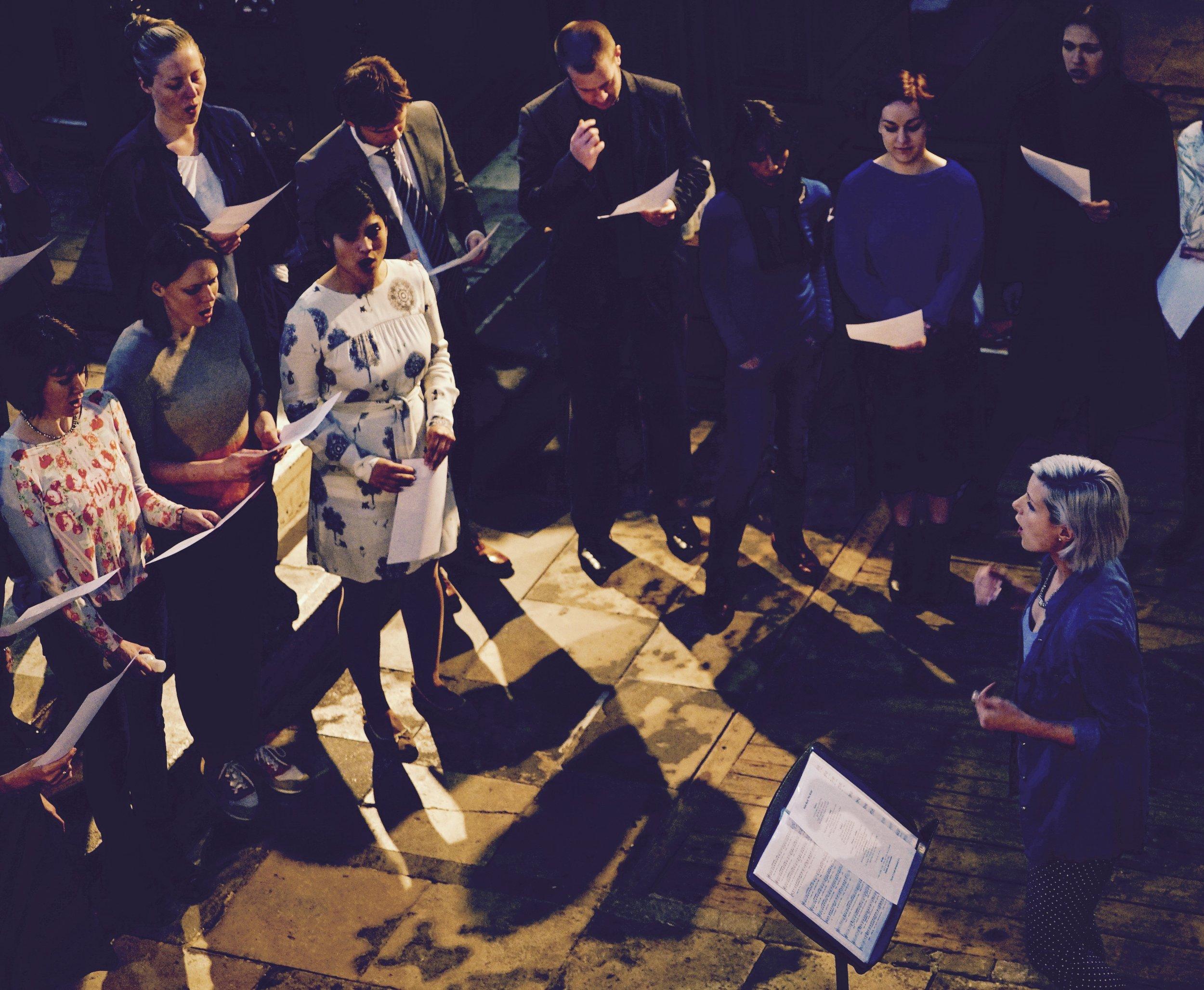 Shoreditch Pop-Up Choir, 2015