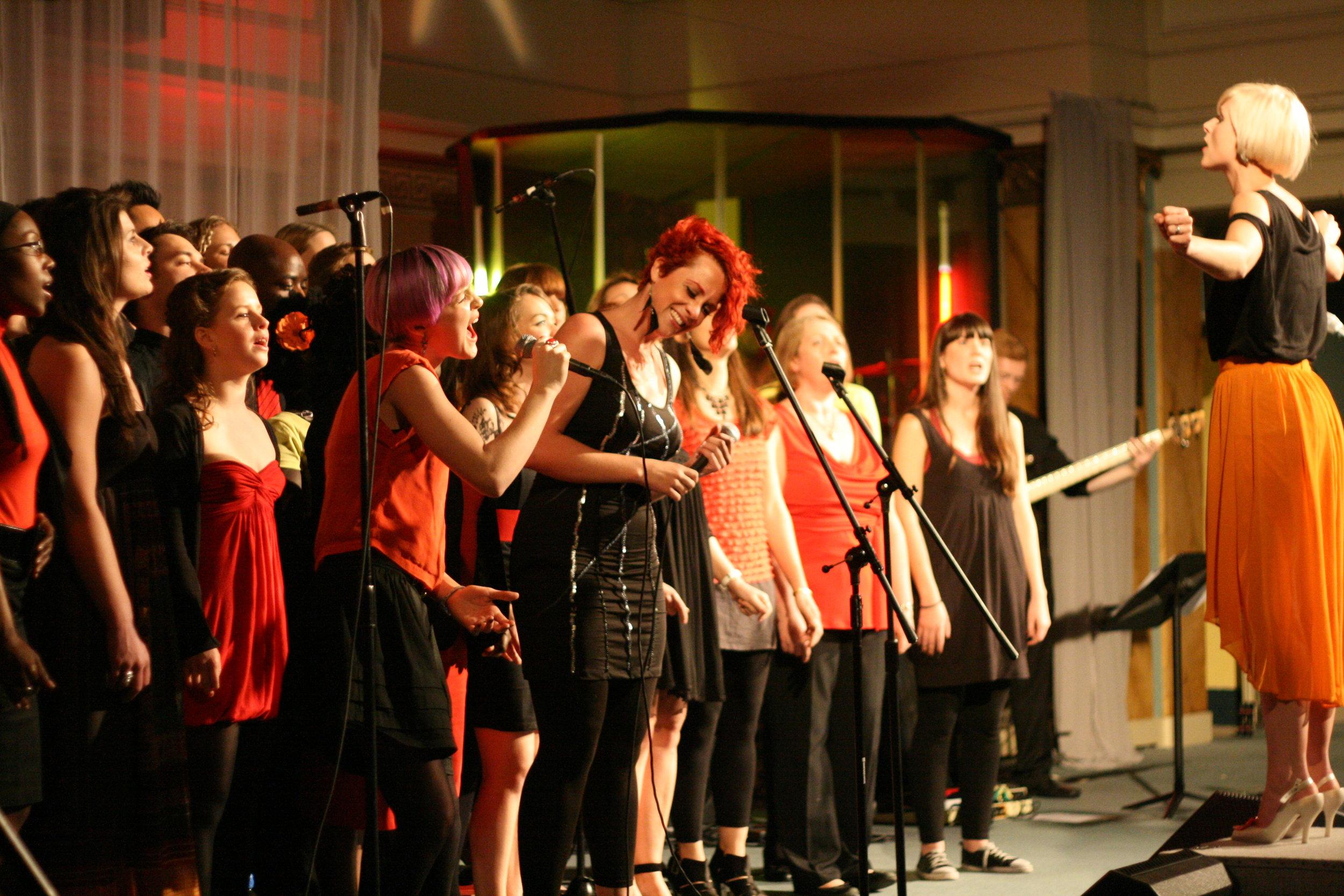 Marylebone Community Choir, 2012