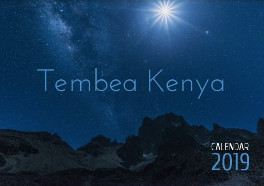 Front Cover: Tembea is Swahili for walk, but the word can be used to mean explore