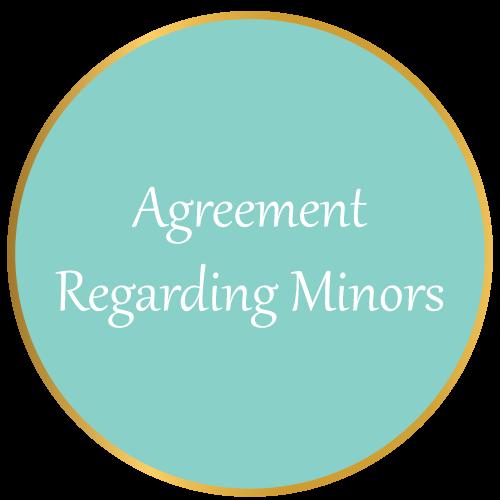 Agreement Regarding Minors