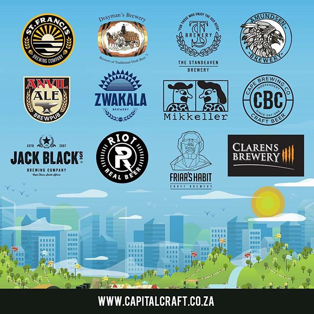 Hello Pretoria! Stoked to be part of this incredible festival 🍻 . . @capitalcraftpta  @capitalcraftcen  #brewerylife #craftbeer #capitalcraft