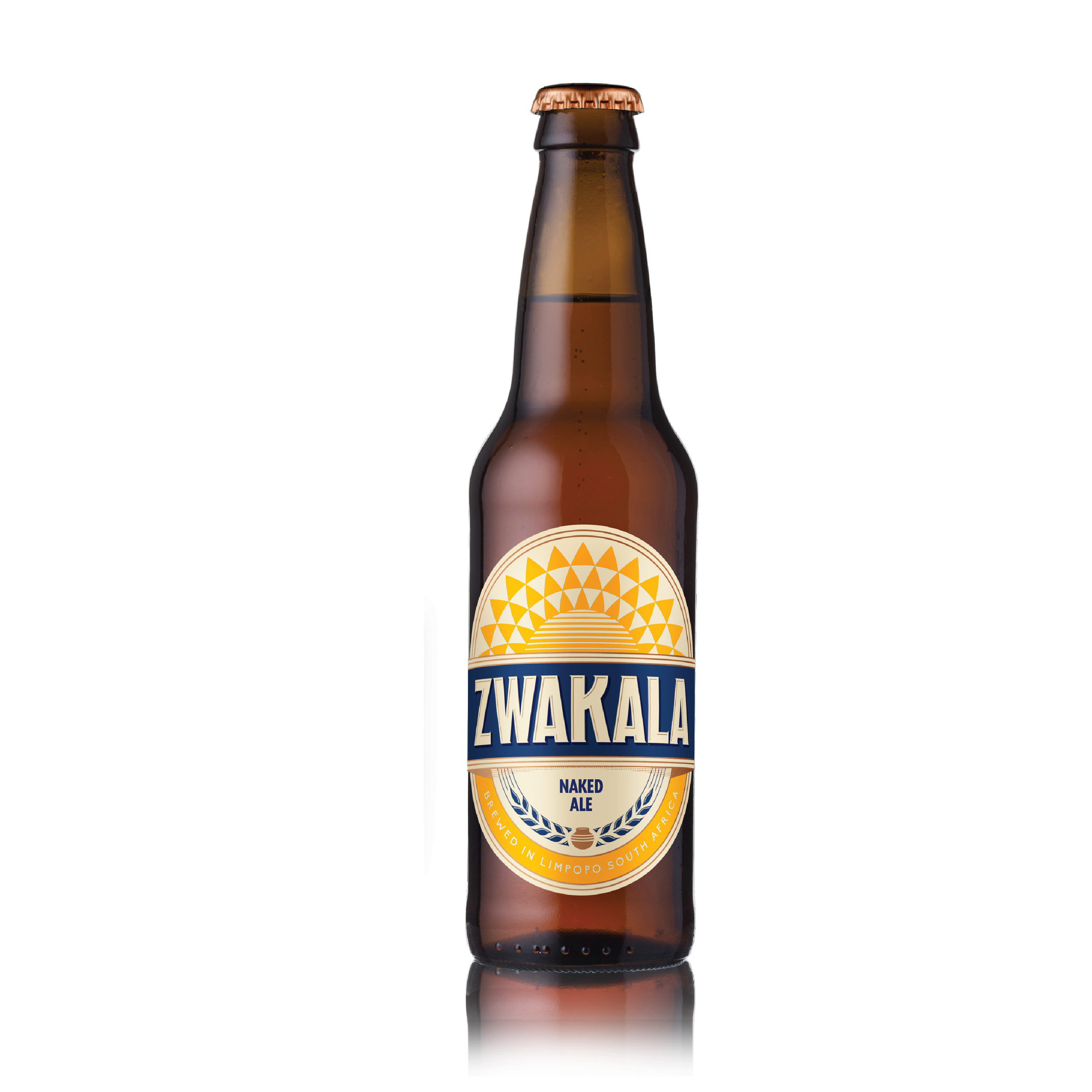 NAKED ALE - The Naked Ale is one sexy looking beer! It has a medium bitterness with light caramel and toffee flavours. It a sessionable beer and a favourite on the mountain. It won Silver at the 2017 South African National Beer Trophy Awards!To us, she's golden!5%ABV