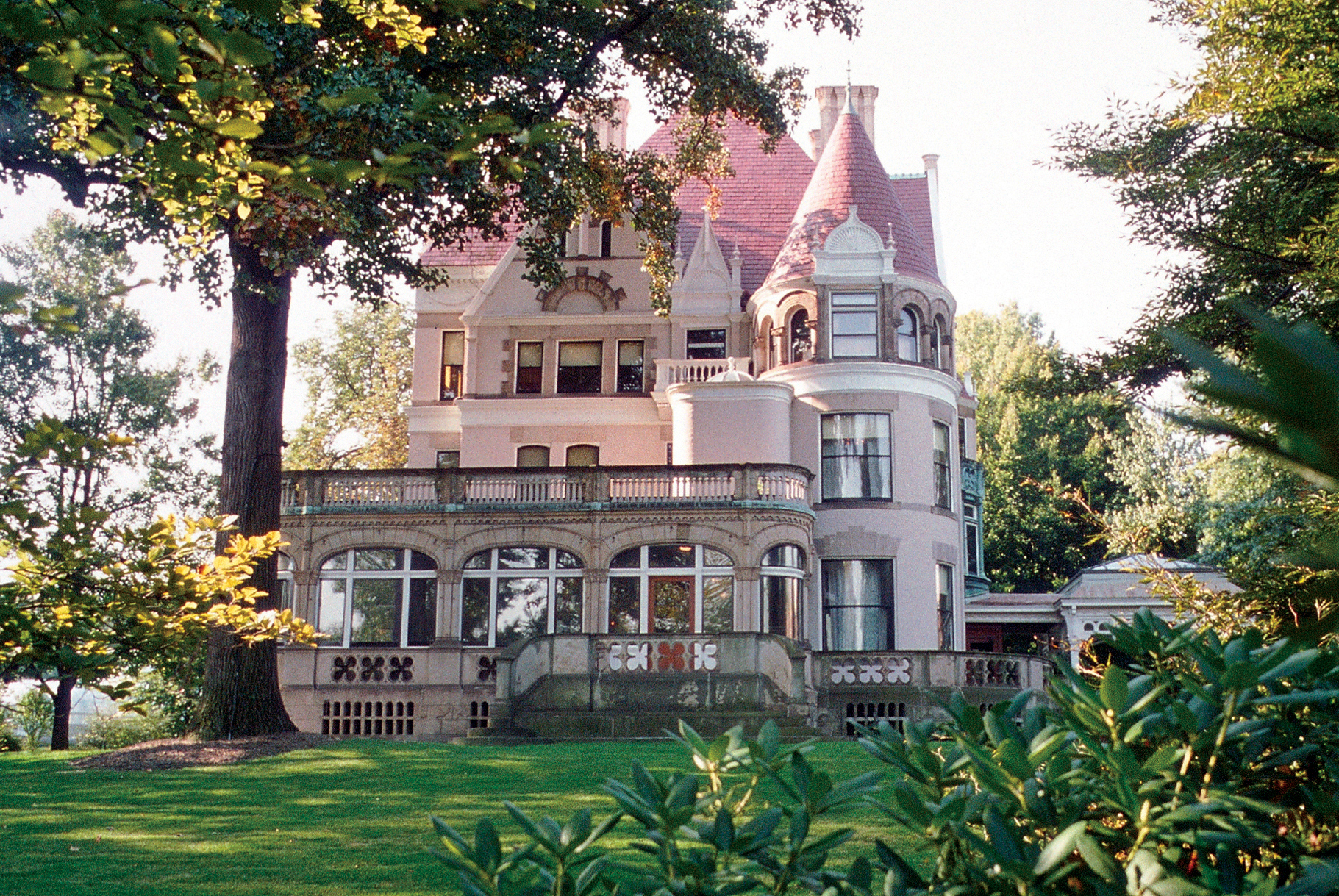 Clayton, the historic home of the Henry Clay Frick family (north façade, view from Penn Ave.)