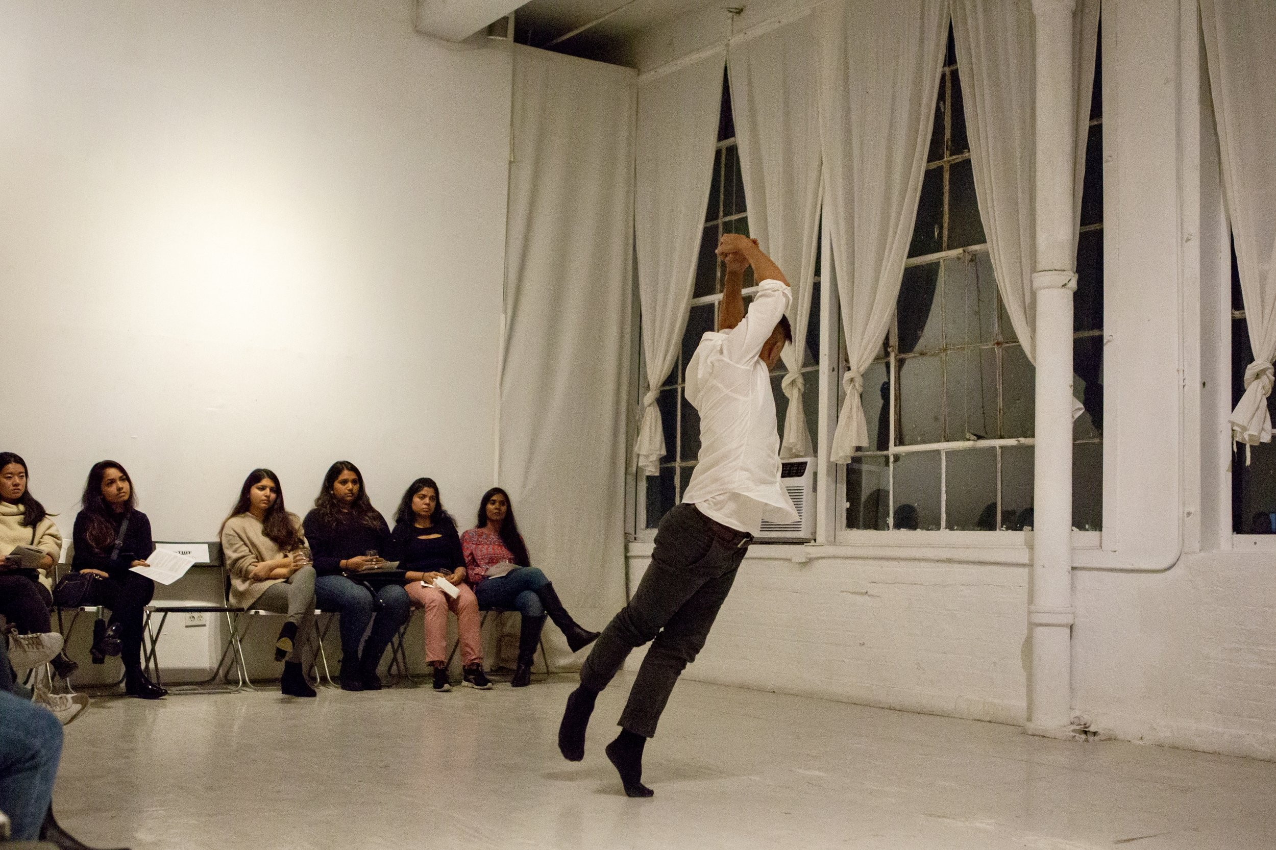 Peter Cheng performs at a recent Hi Artist event