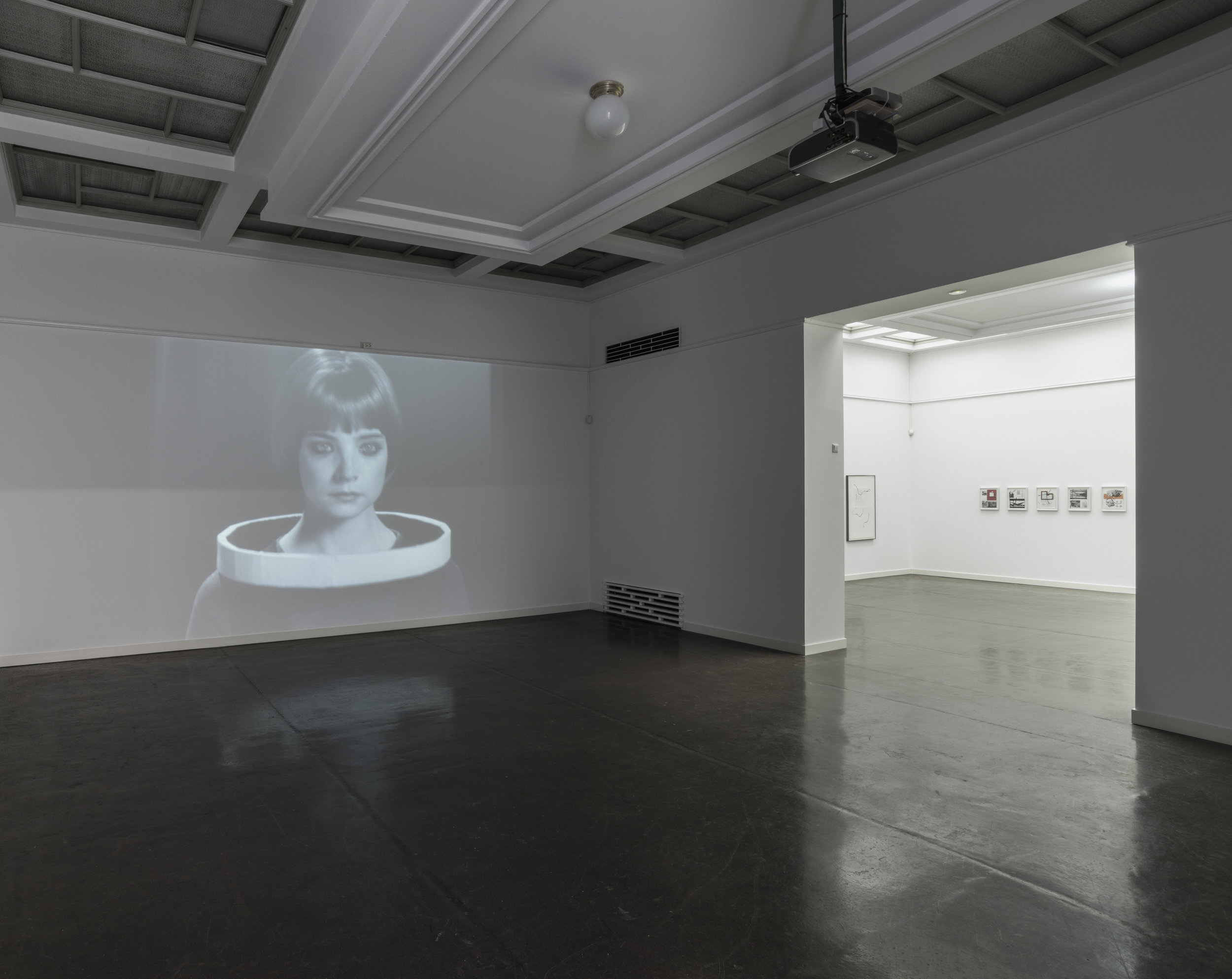 An Everywhere of Silver ,installation view, Proverbs for Ouroboros, Trondheim Kunstmuseum, 2016