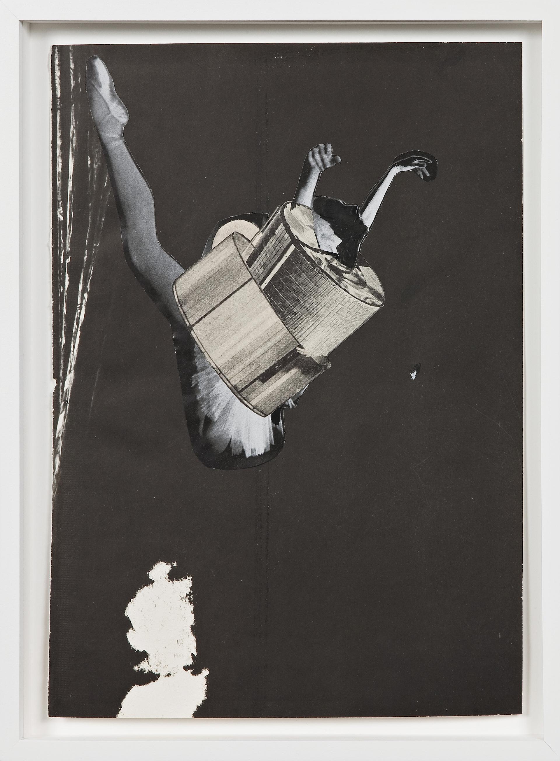 Petals, Sepals, Metals, 2009, collage and ink on paper, 21,5 x 29 cm