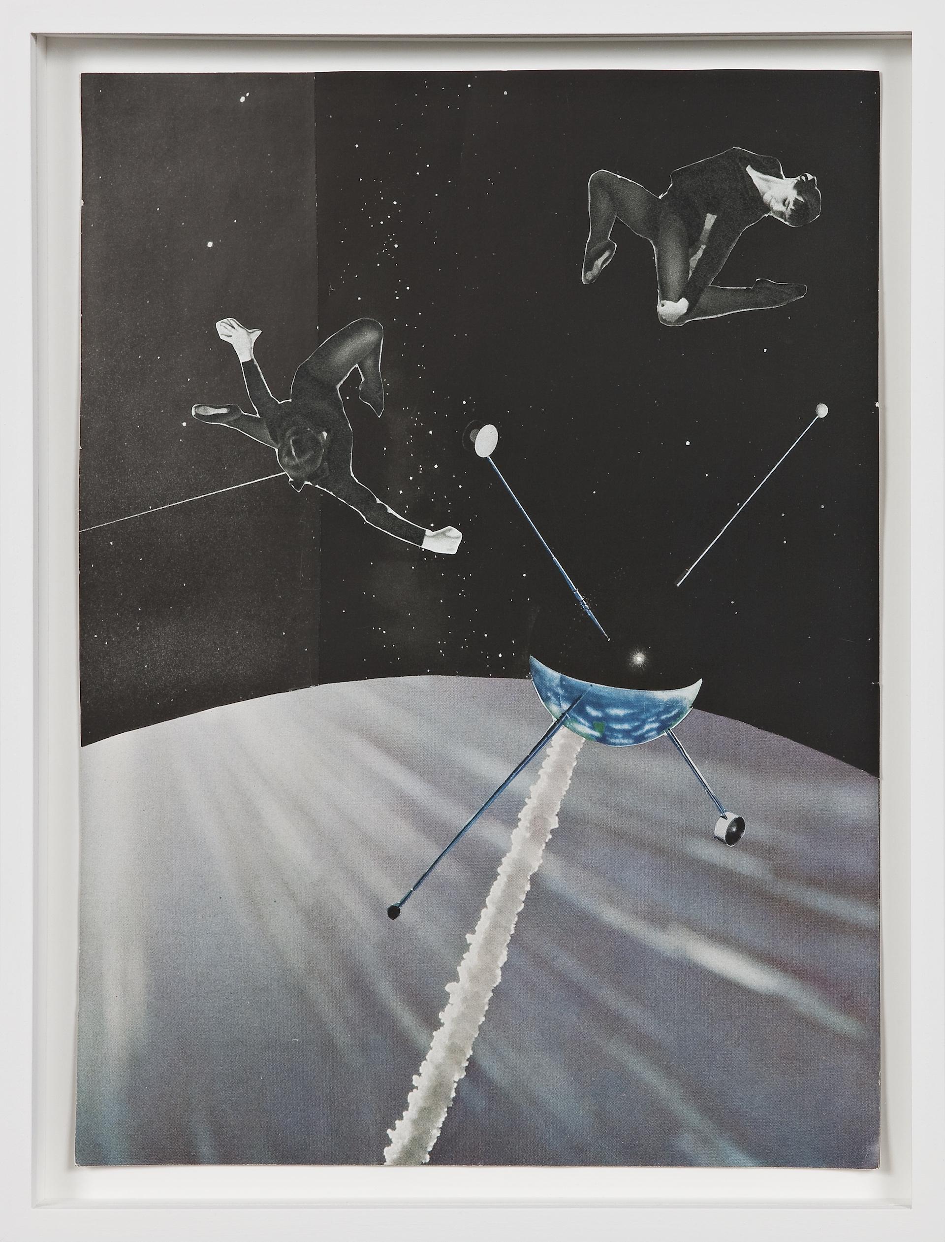 Petals, Sepals, Metals, 2009, collage on paper, 21,5 x 29 cm