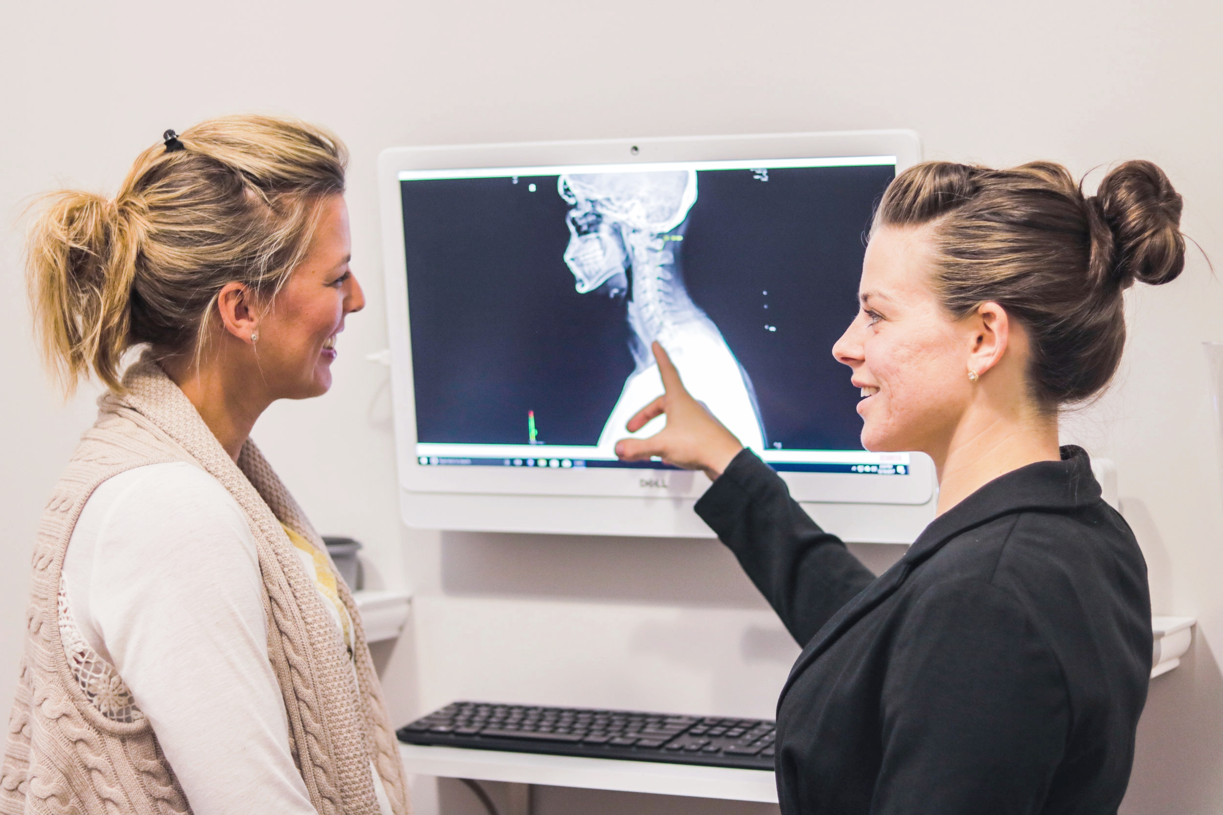 X-Ray Analysis - Our on-site digital x-ray suite enables our doctors to visualize the entire structure of your spine. This is very important in evaluating specifically where spinal segments have misaligned in order for our doctors to know exactly how to gently re-align them and restore proper communication to your nervous system.
