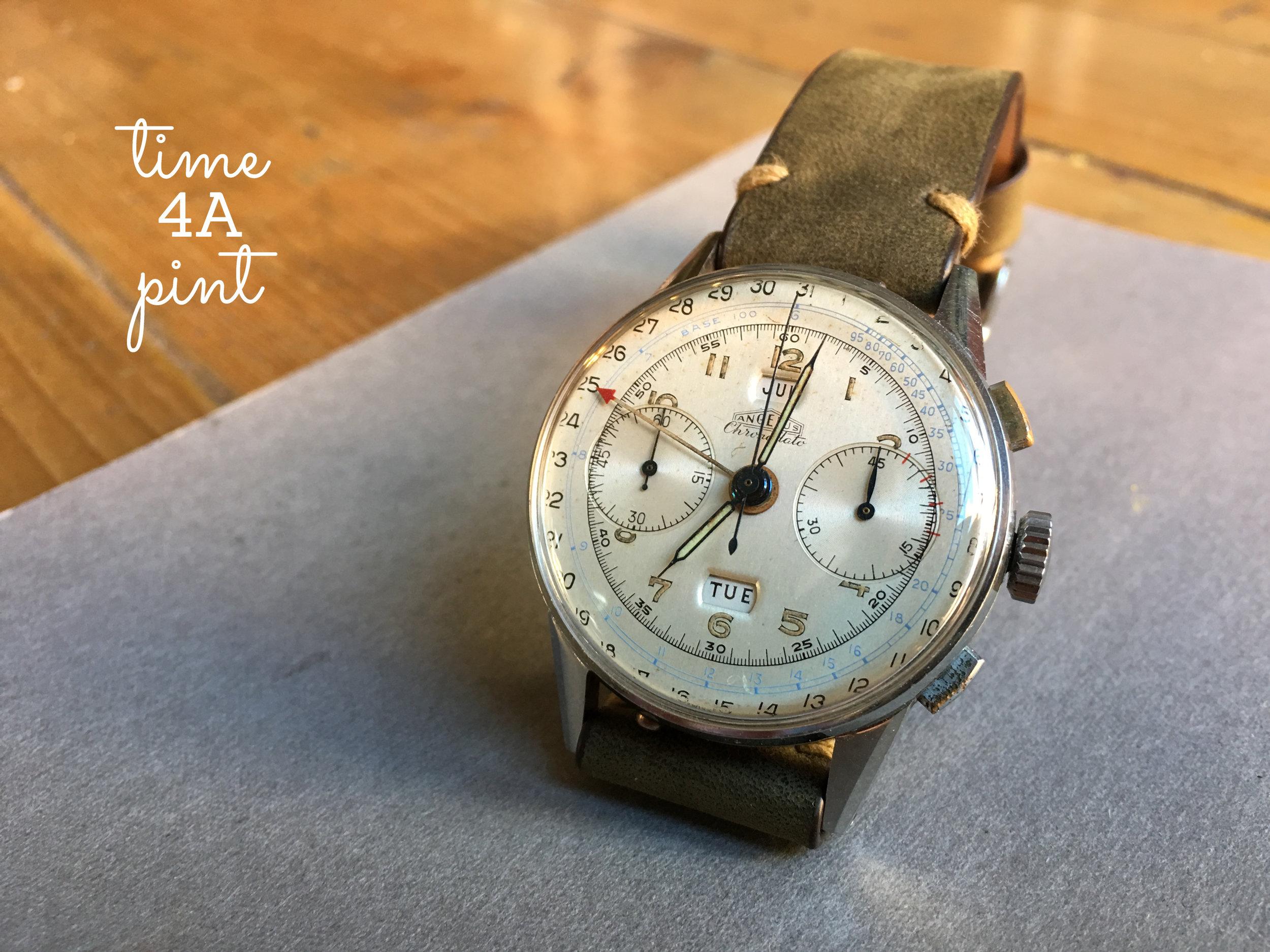 Angelus Triple Date Chronograph/Chronodato 217