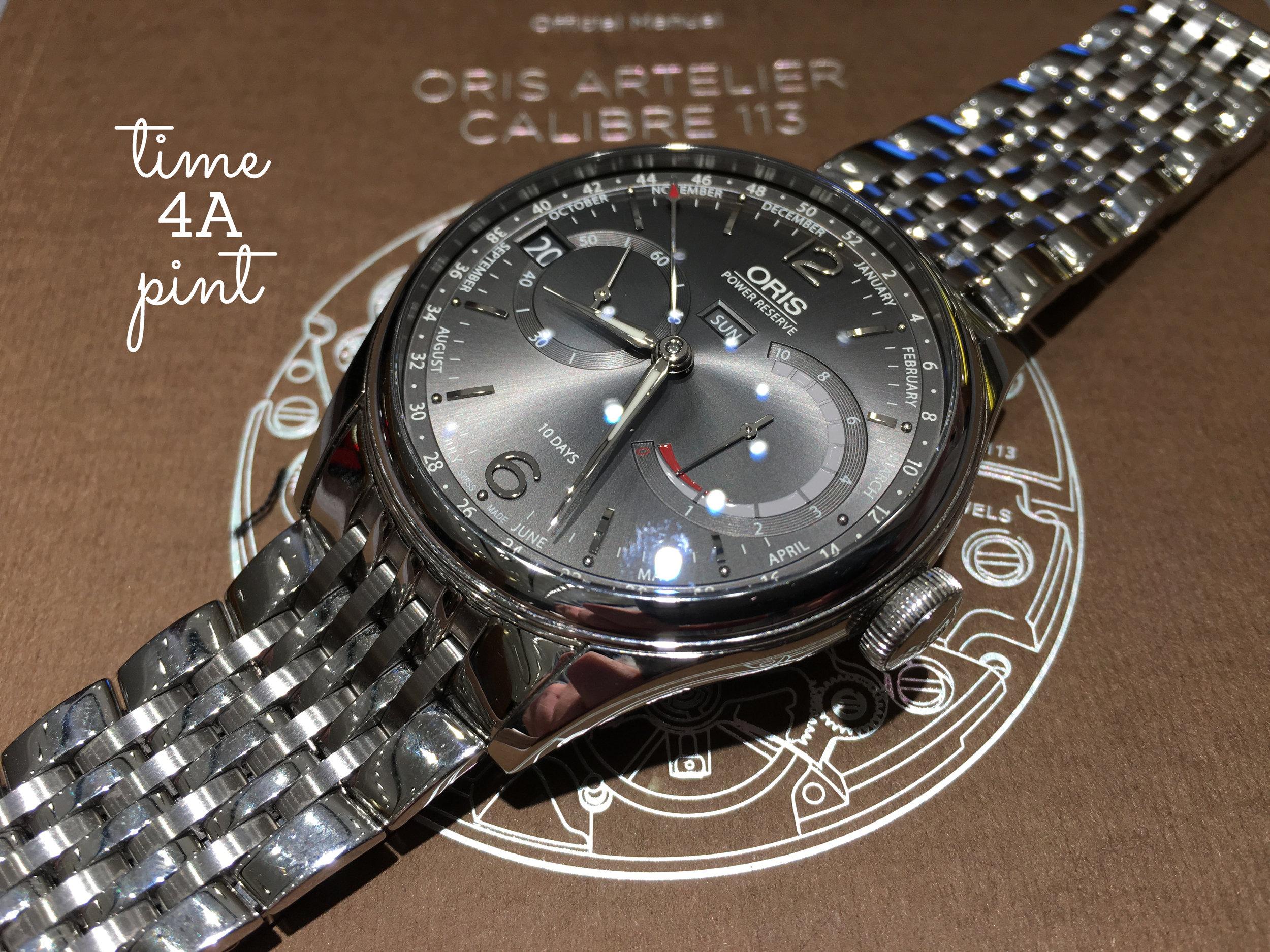 Oris Calibre 113 Grey