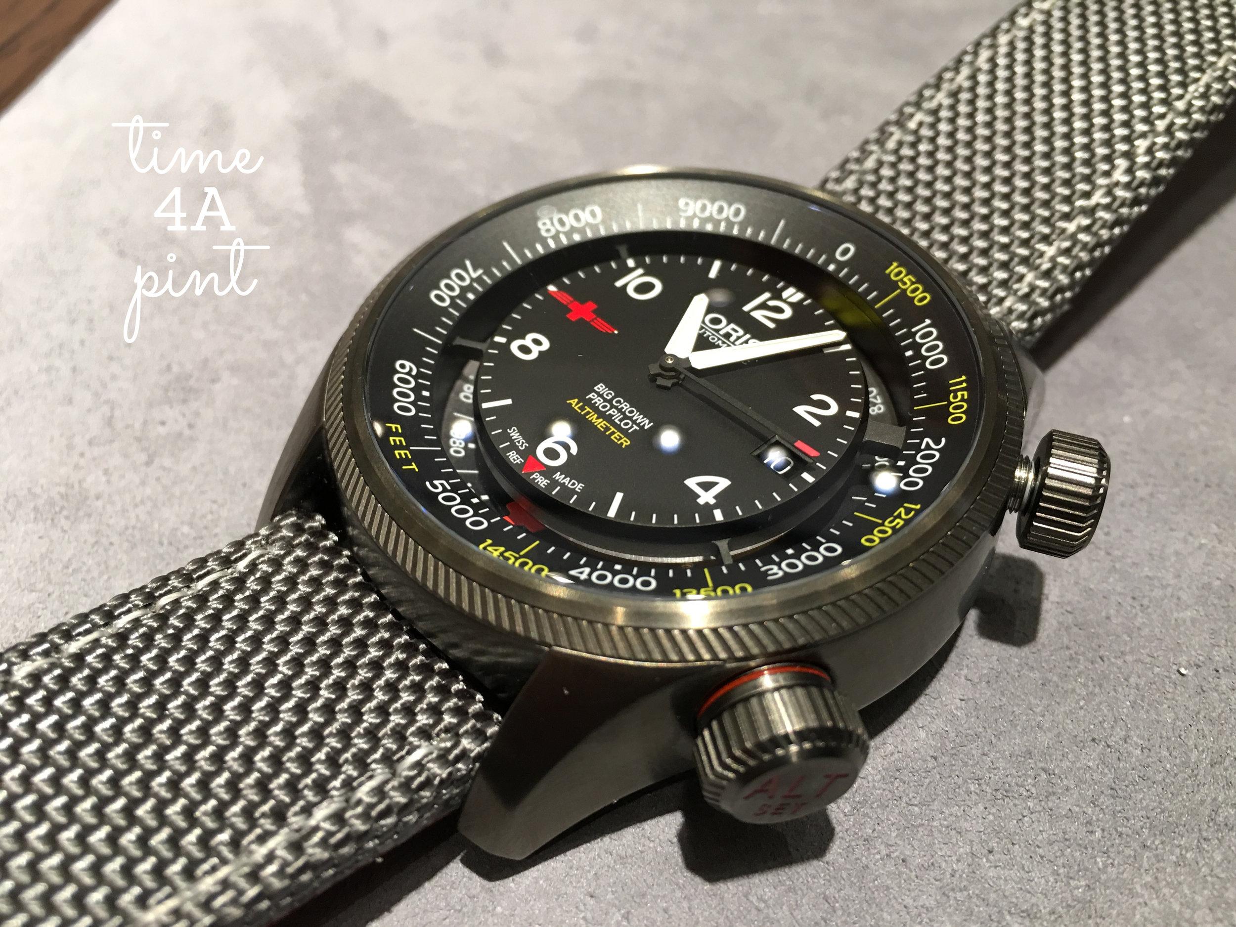 Oris Big Crown Pro Pilot Altimeter