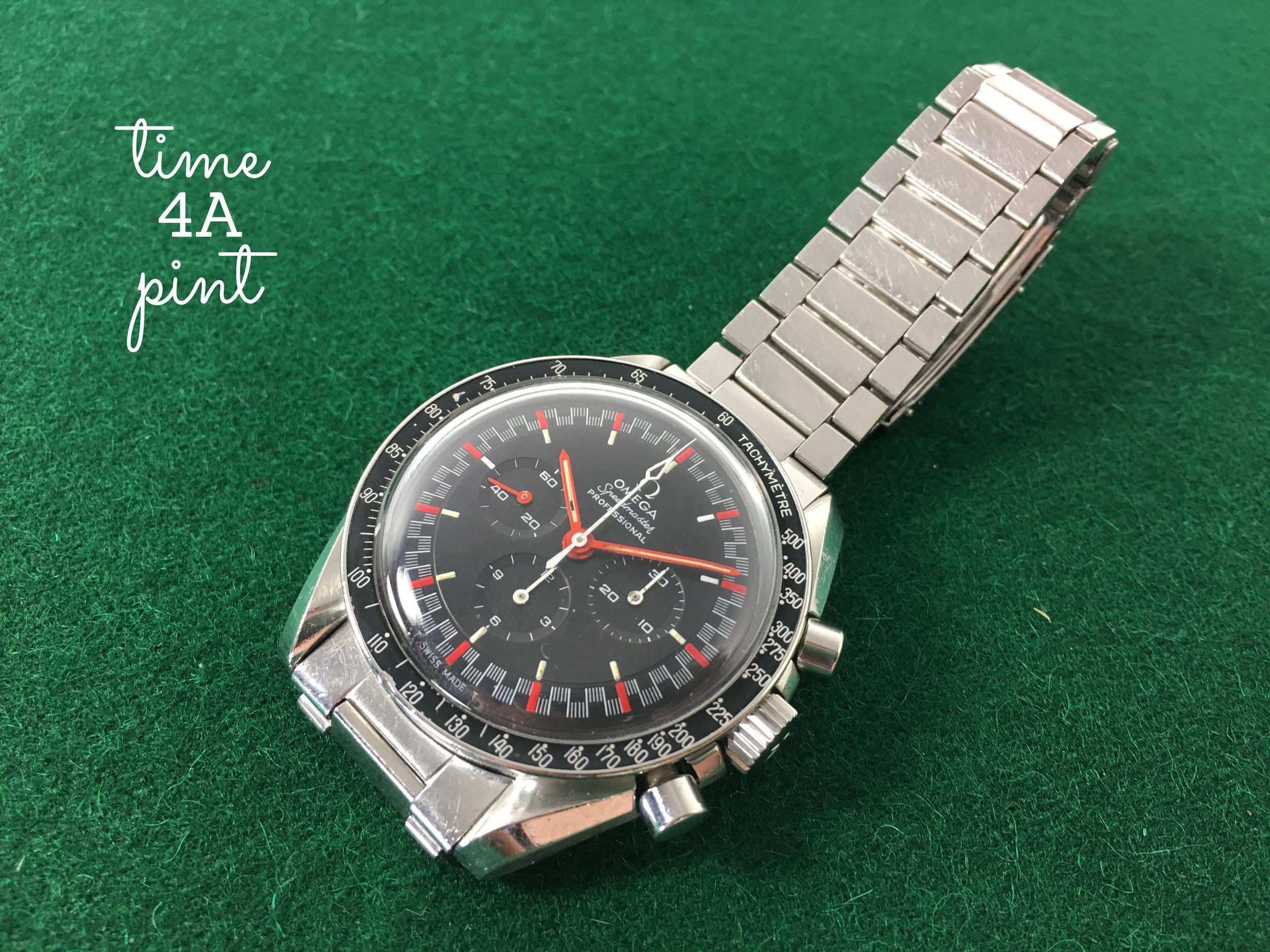 """Omega Speedmaster 145.012 """"Black Racing"""""""