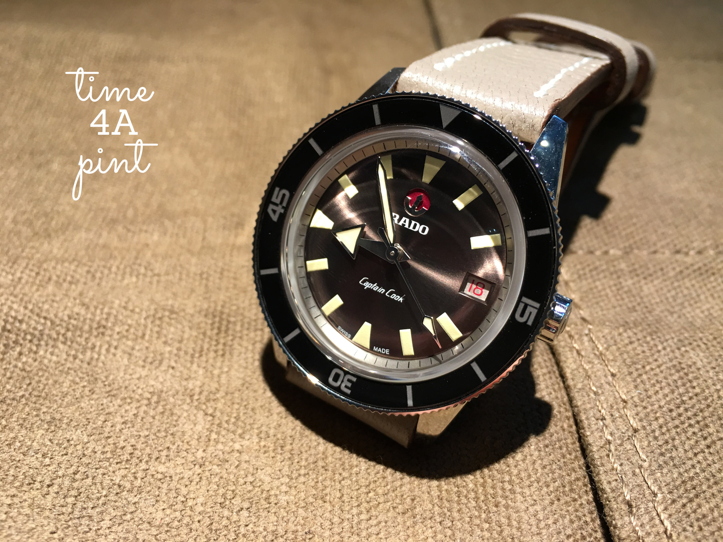 Rado Captain Cook LE Ref. 01.763.0500.3.130