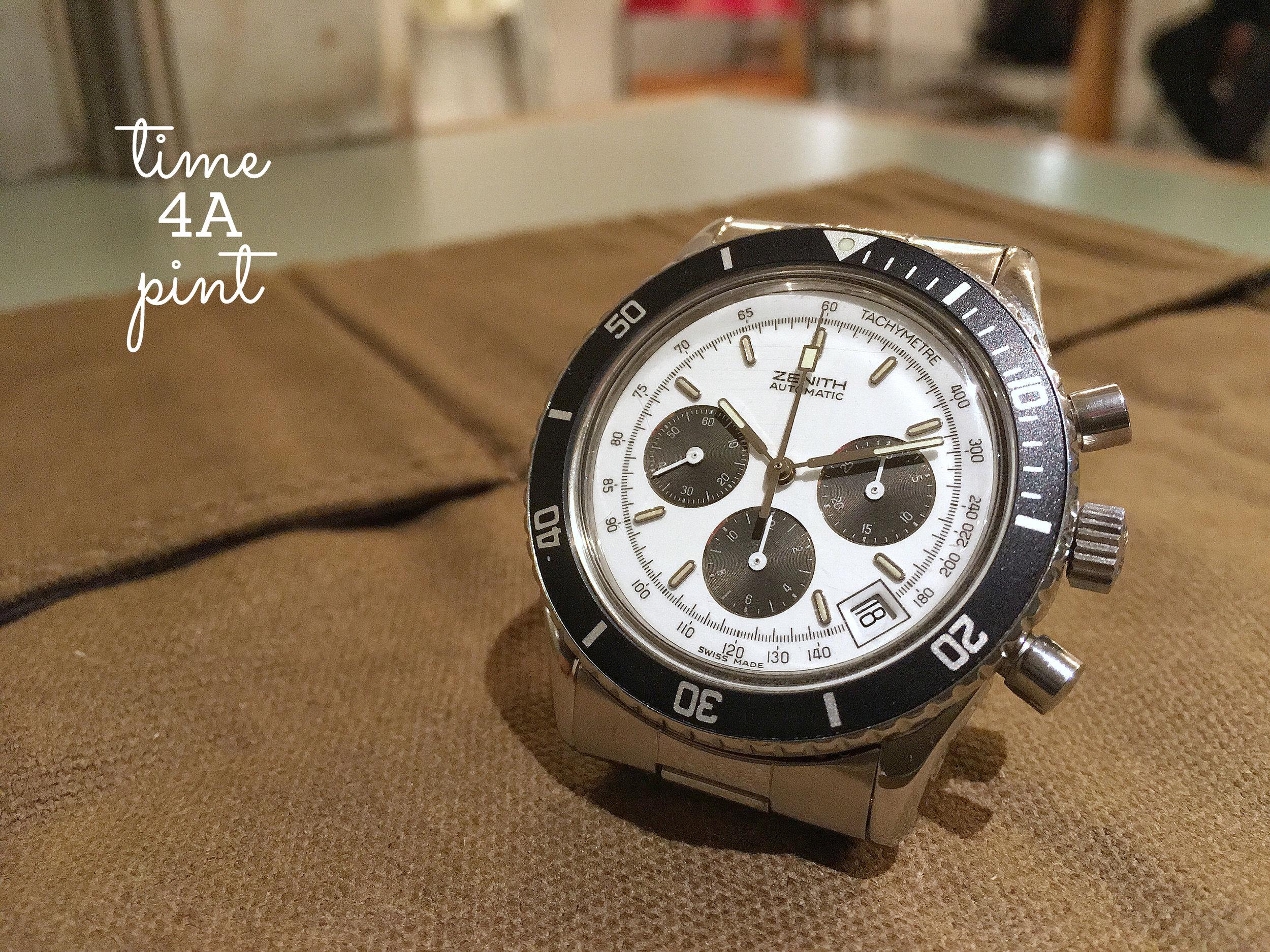 Zenith Automatic Chronograph (Series 1 De Luca)