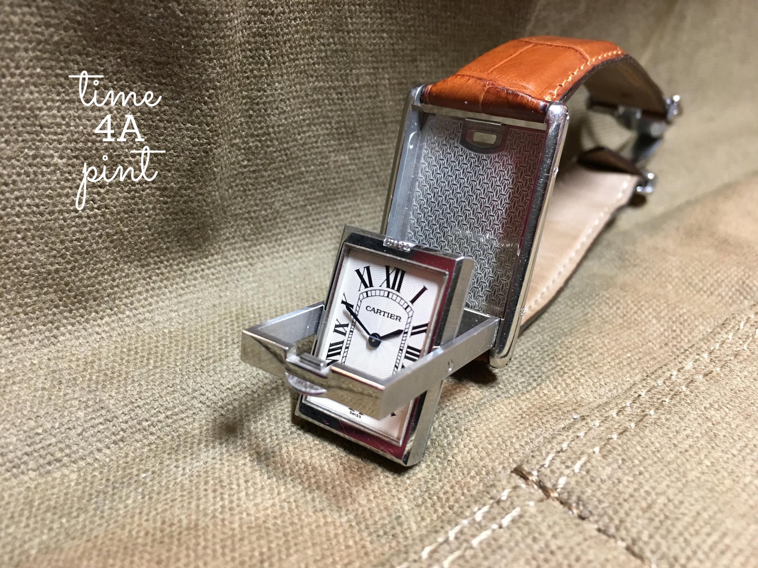 Cartier Tank Basculante 2390