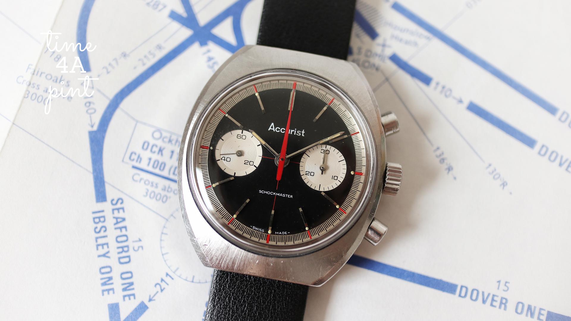 Accurist Schockmaster Chronograph