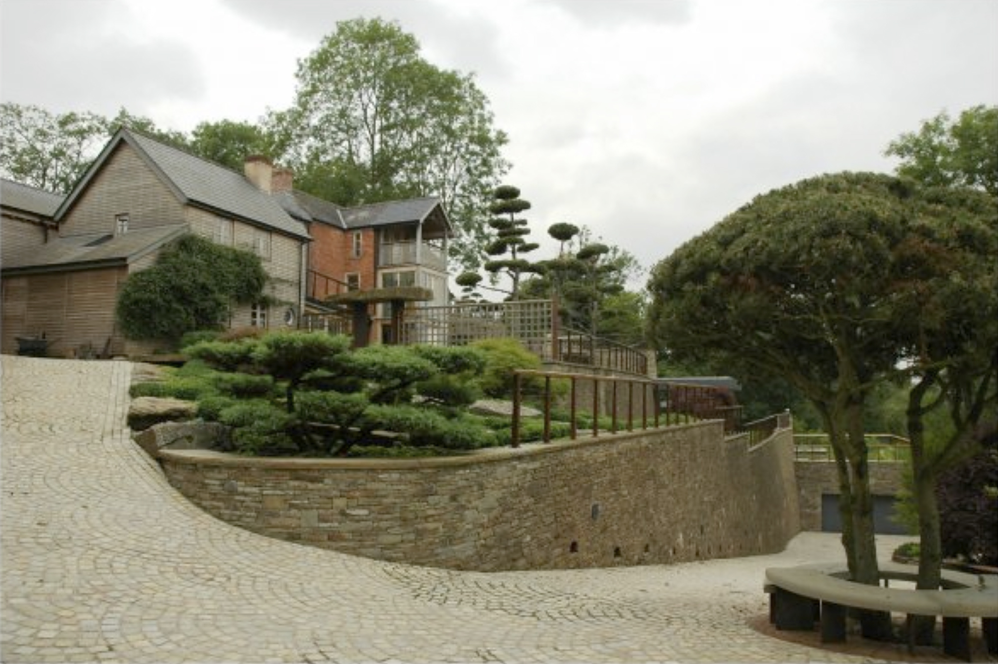 lawless hill cottage renovation extensions landscaping swimming pool ponds groundworks builder ross on wye.jpg