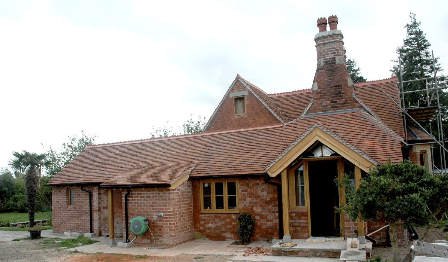 river house building restoration LEAN-TO EXTENSION,  PORCH AND EXTERNAL BOILER HOUSE herefordshire builder.jpg