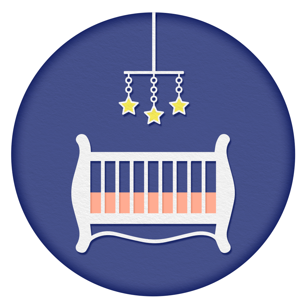 Pitch Black Room - Keep your baby's room extremely dark. Even slight amounts of light can disrupt sleep, impacting the quality of rest your baby receives as well as its duration.
