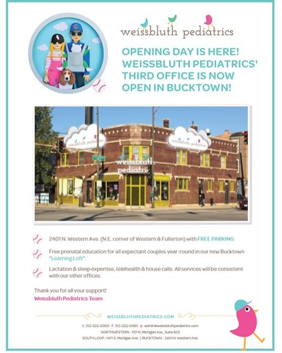 And...so it begins...WP Bucktown is officially open! #wpkids
