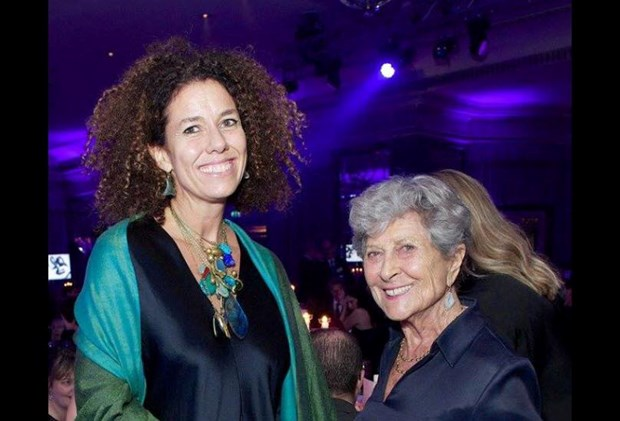 Above image: Pippa Small (shown left), Jewelry Designer and Winner of the Most Socially Responsible British Luxury Brand Award