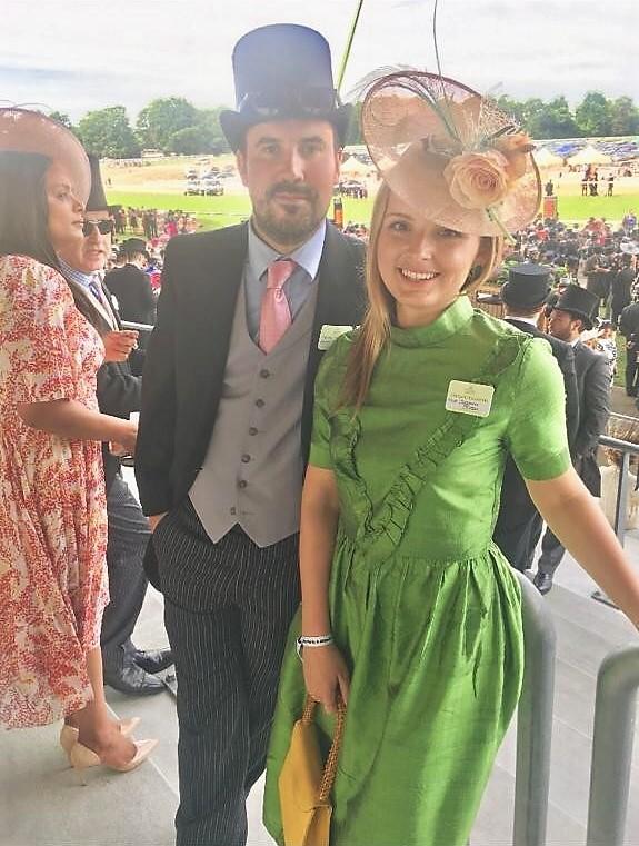 Georgina Boden from Exmoor Caviar looking fantastic!