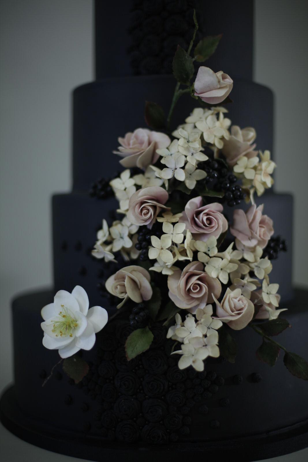 Belladonna wedding cake