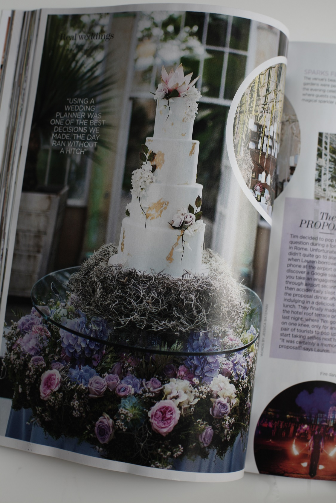 You and Your Wedding Magazine, real wedding (Lauren and Tim at Syon Park)
