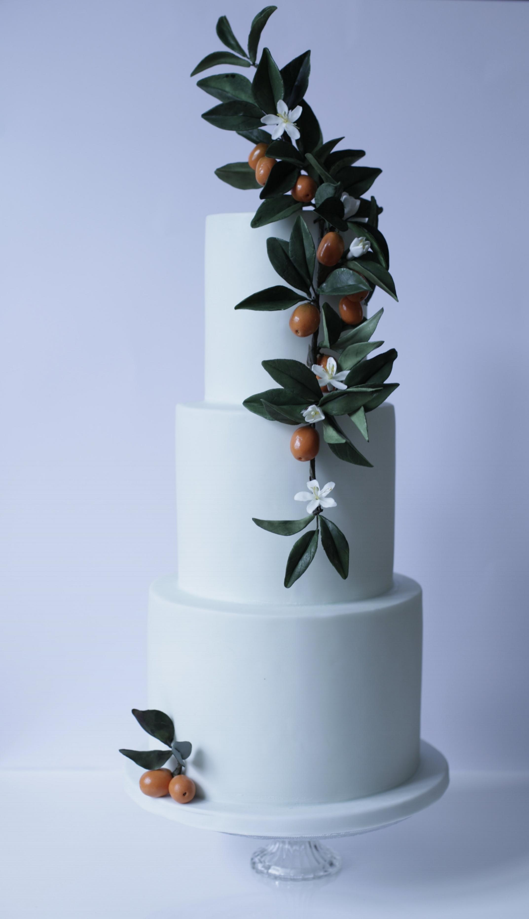 kumquat Wedding cake