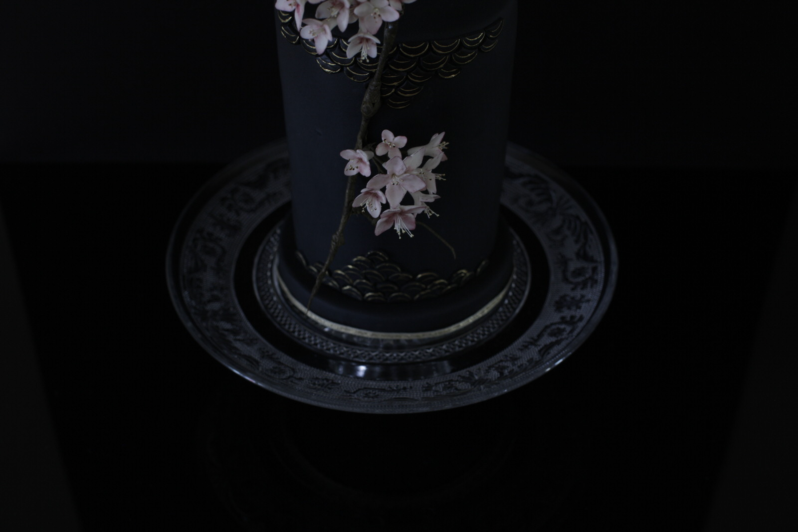 Sakura wedding cake