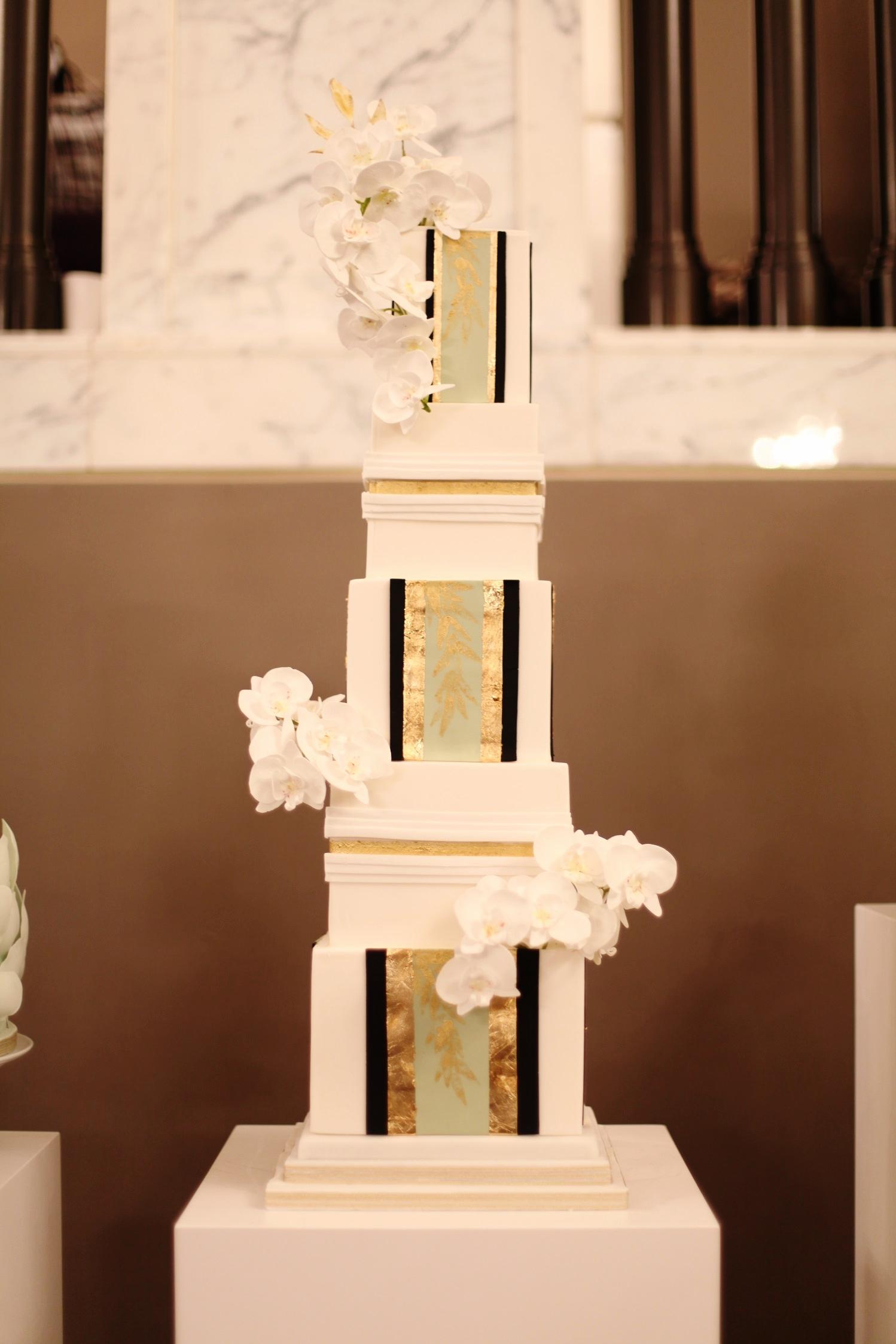 kimono wedding cake
