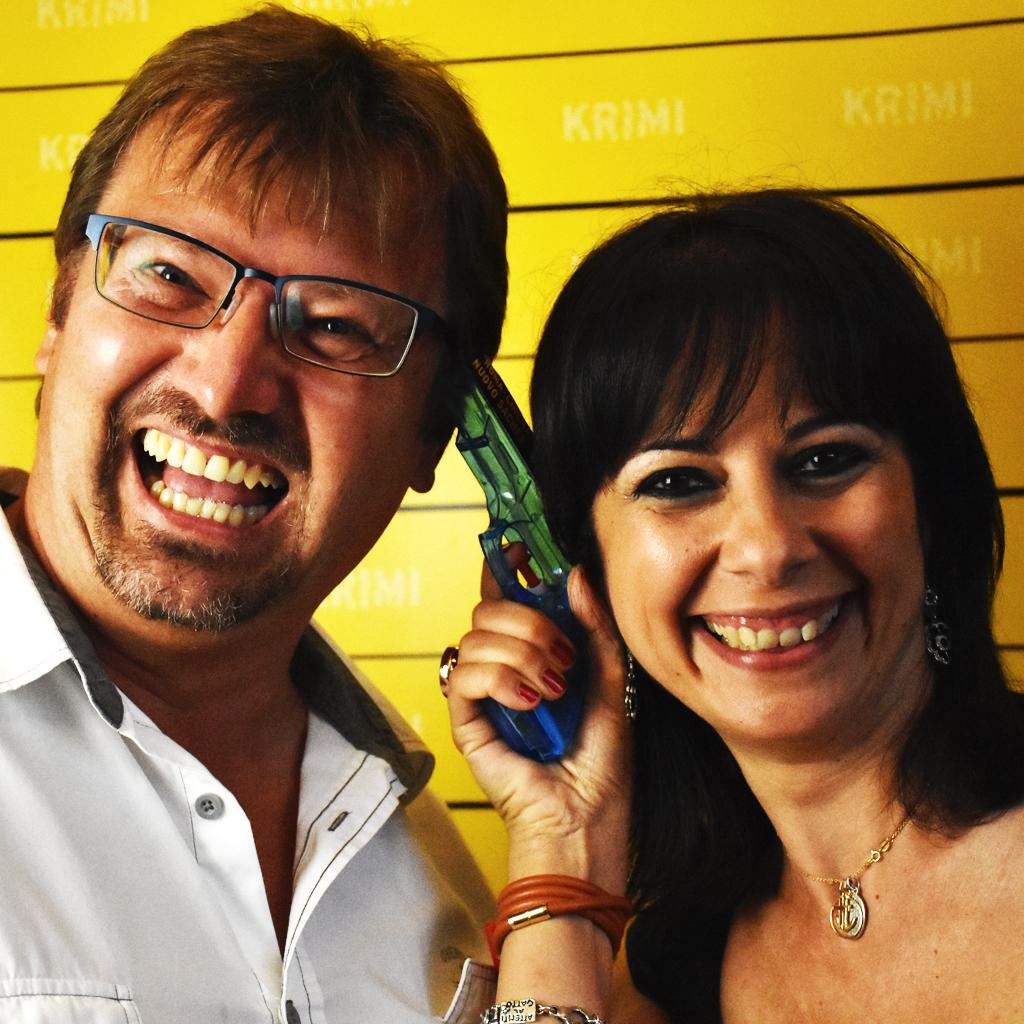 Gruber e Cristina