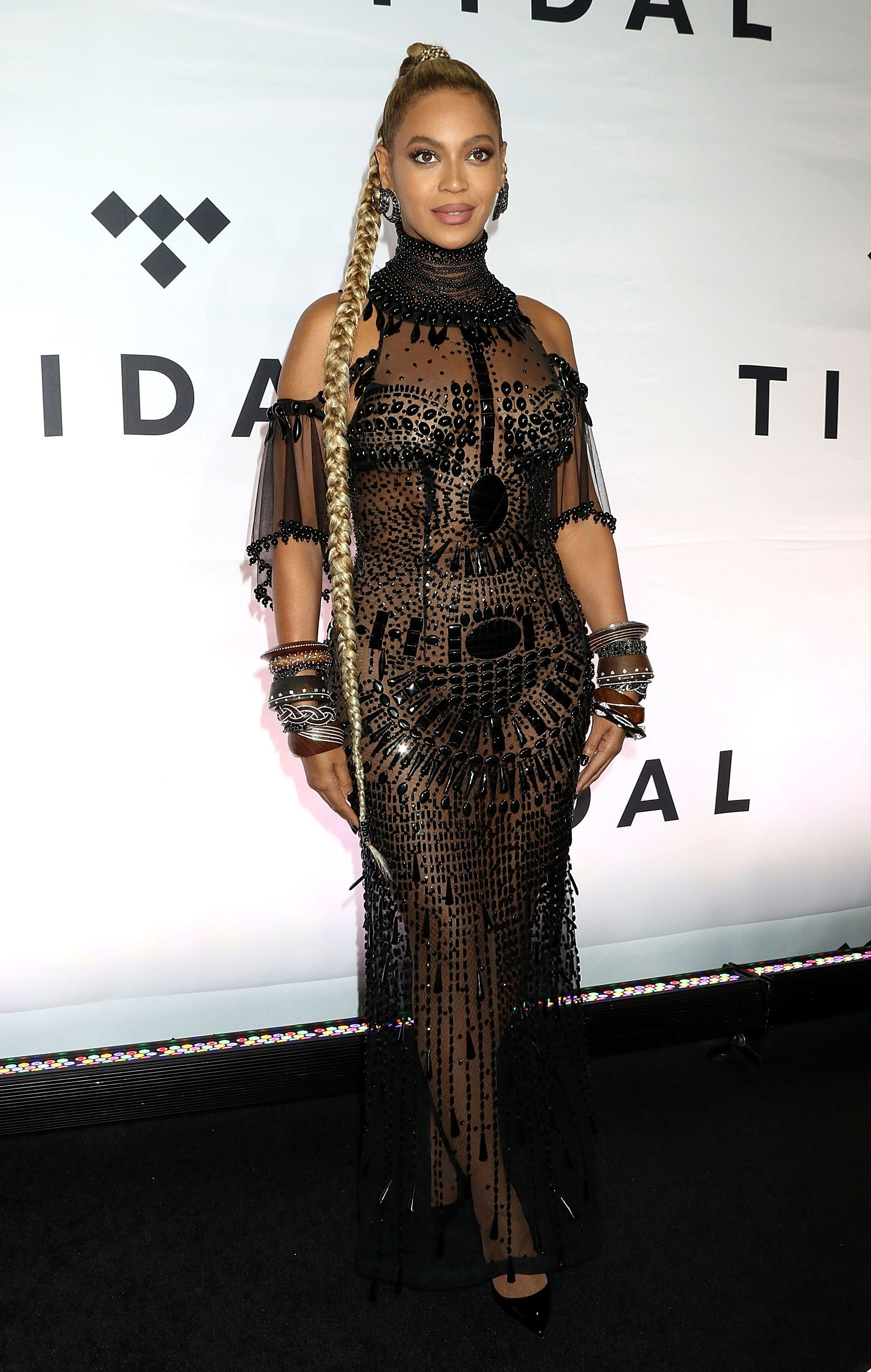 Beyonce in LaQuan Smith