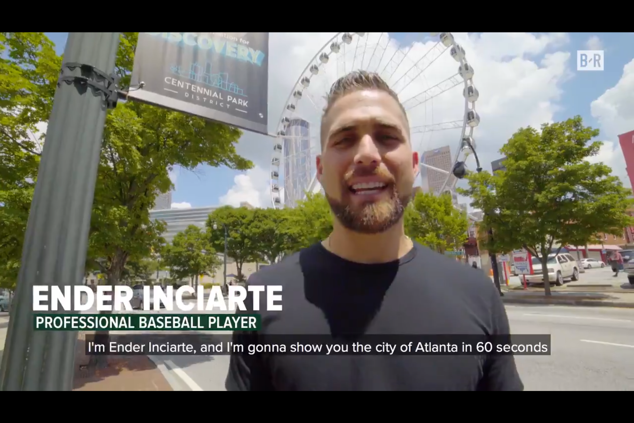 Before the Braves embark on their first playoff appearance since 2013, Ender Inciarte takes us on a tour of Atlanta in 60 seconds -   Bleacher Report