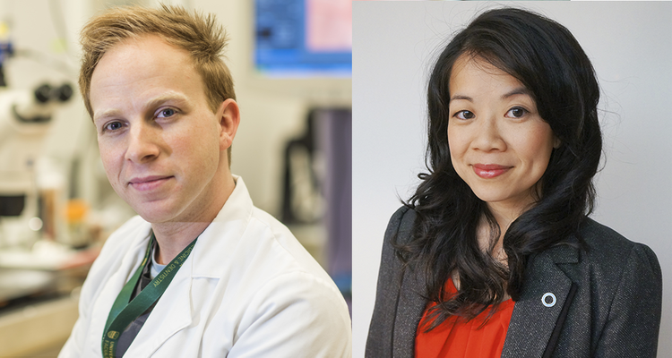 Jamie Boisvenue (left) and Dr. Roseanne Yeung(right)