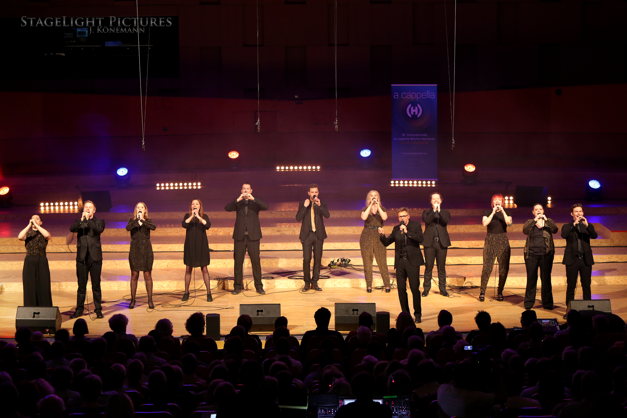 Internationale A-cappella-Woche Hannover, Großer Sendesaal im NDR, Germany