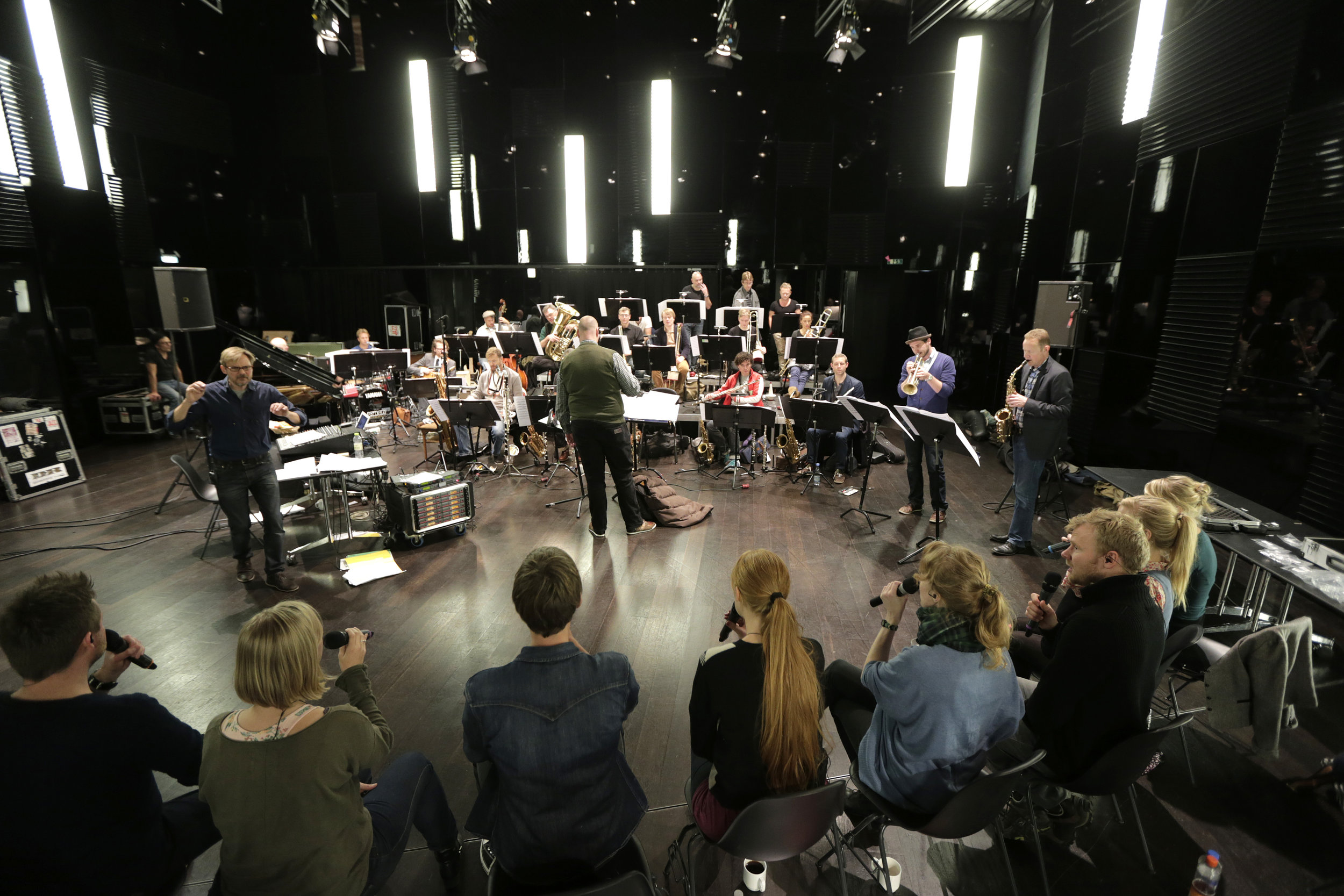 Collaboration with the DR Big Band, Denmark