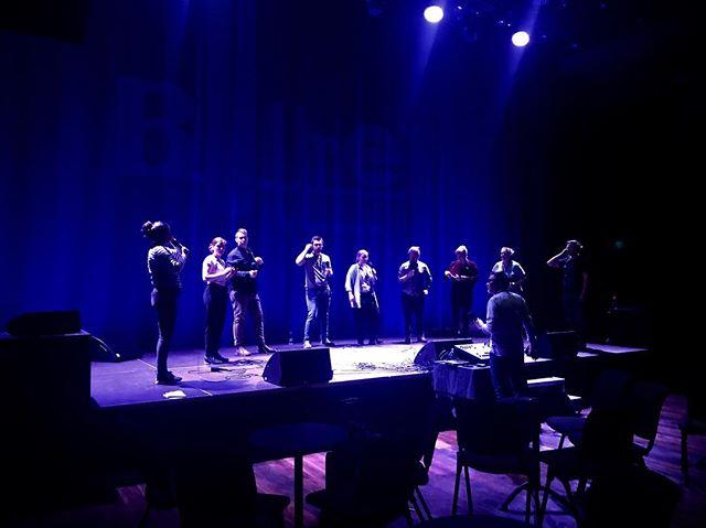 Sound check was GREAT - Malmö, we're SO ready for you!! ✨✨👏🏼 #bullretjazzklubb #touchejazz #malmölive #vocaljazz