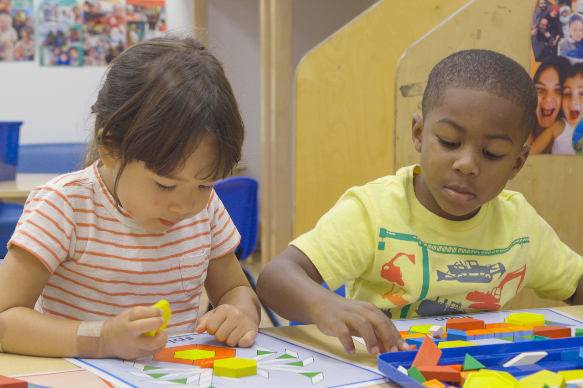 Classrooms - Our classrooms provide routines that promote independence and exploration, provide both structured and free time, and involve all aspects of a child's development through hands-on experience.