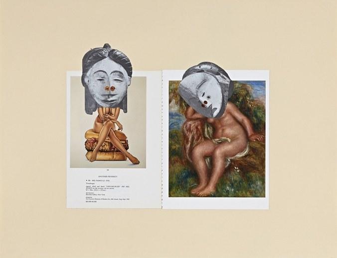 "William Villalongo (American, born 1975). ""Muses (Artifact 1), 2012"